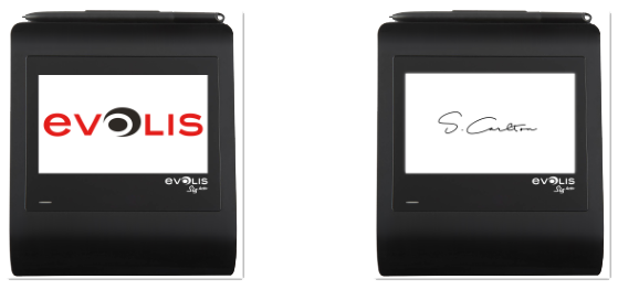 Signature Pad Range From Evolis