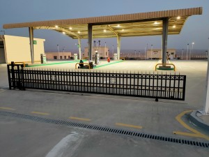 New Capital Fuel Station